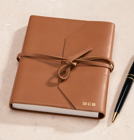 Personalized Leather Wrap Journal Leather Bound Journal
