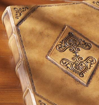 Antico Leather Photo Album and Leather Scrapbook