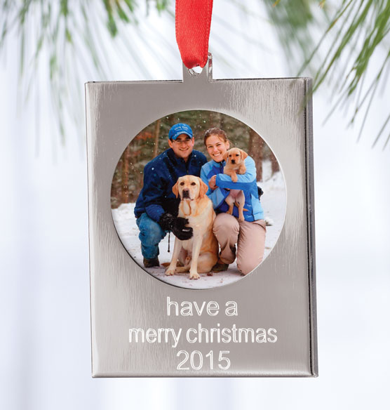 Engraved Holiday Ornaments