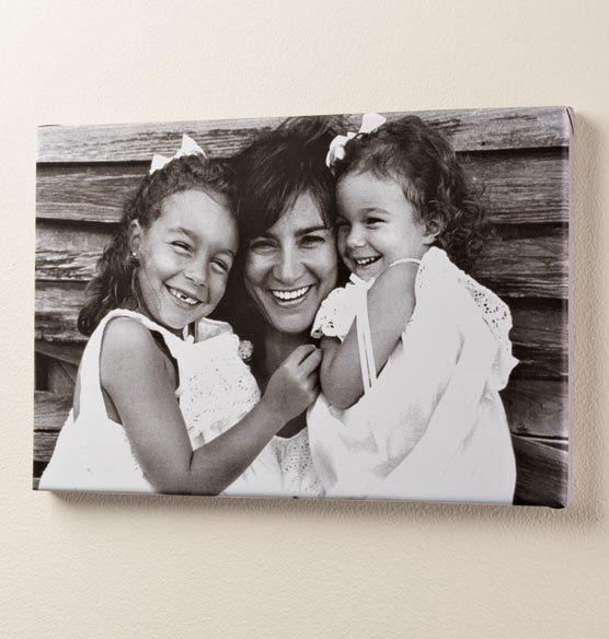 Full Bleed Single Photo Canvas - 18 x 24 - View 2