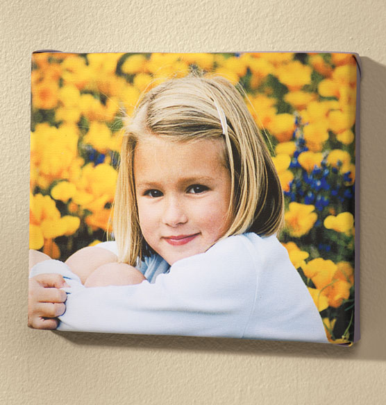 Full Bleed Single Photo Canvas - 18 x 24 - View 3