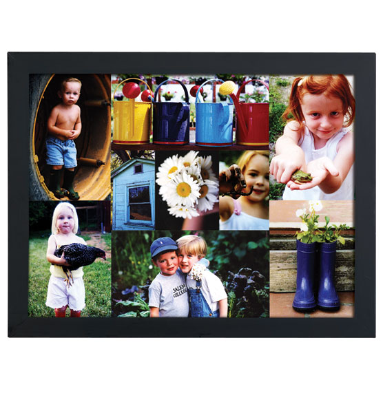 9 Photo Collage Canvas - View 2