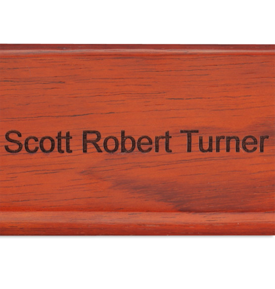 Personalized Rosewood Letter Opener - View 5