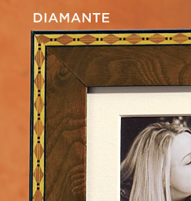 Italian Marquetry Photo Frame Collection