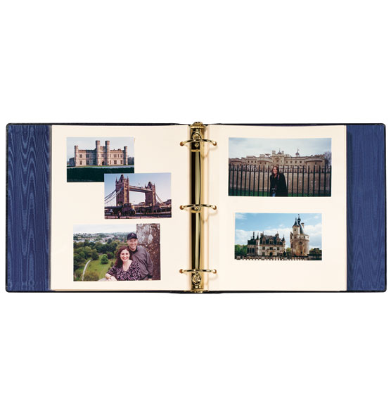 Presidential Extra Capacity Personalized Photo Album - View 2