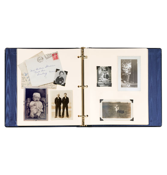Personalized Presidential Leather Album - View 2