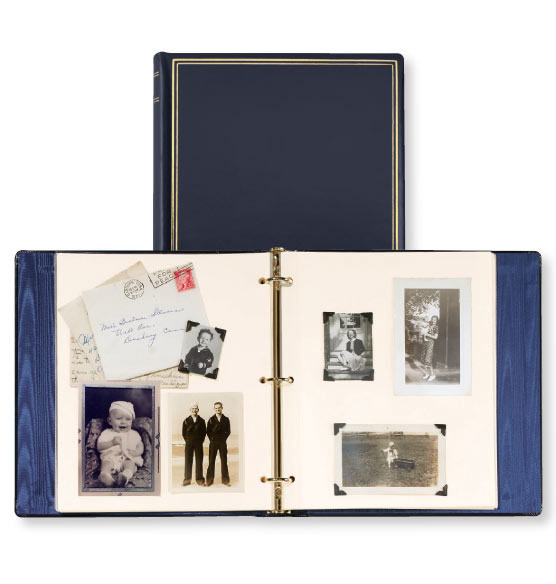 Personalized Presidential Leather Album - View 5