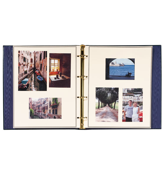Presidential Oversize Personalized Photo Album - View 2