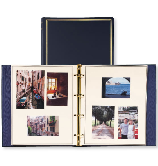 Presidential Oversize Personalized Photo Album - View 4