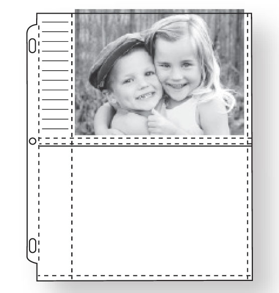 "Photo Album Pages – Double-Weight 5"" x 7"" Photo Pages - View 2"