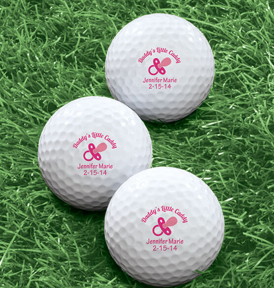 Personalized Golf Balls Set of 6 - View 5