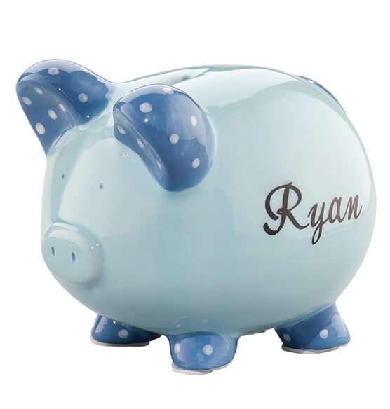 Personalized Children's Piggy Bank - View 2