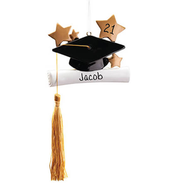 Personalized Graduation Ornament - View 2