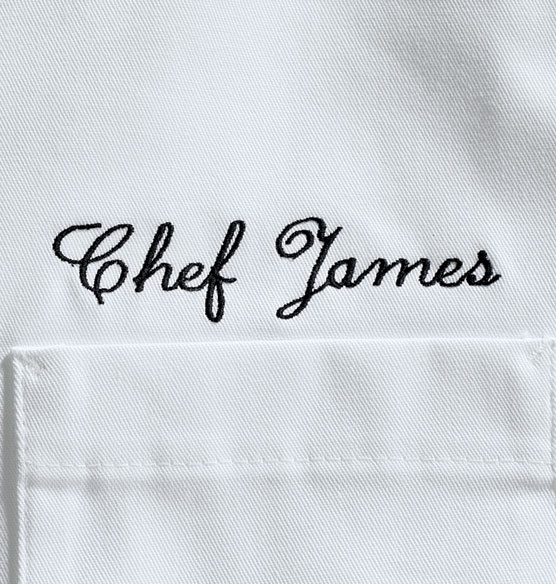 Personalized Chef Jacket White - View 2