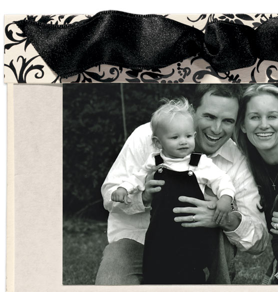 Black Tie Photo Christmas Card Set of 18