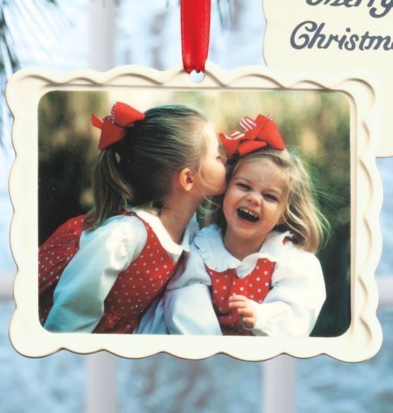 Picture Perfect Postcard Ornament