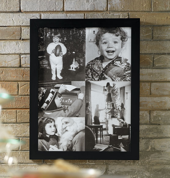 Custom 5 Photo Collage Canvas 11 x 17 Unframed - View 4