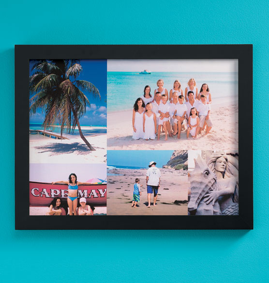 Custom 5 Photo Collage Canvas 18 x 24 Unframed - View 4