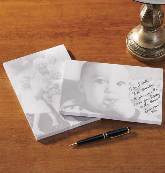 Custom Photo Notepad