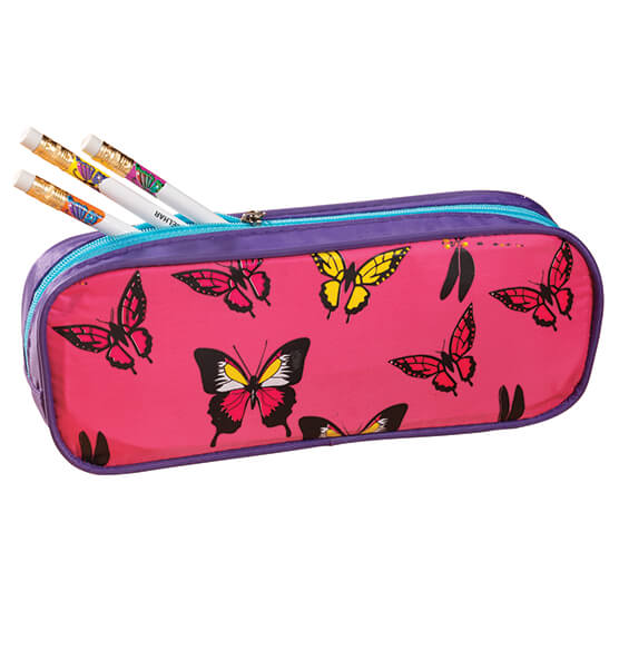 Personalized Butterflies Pencil Case - View 2
