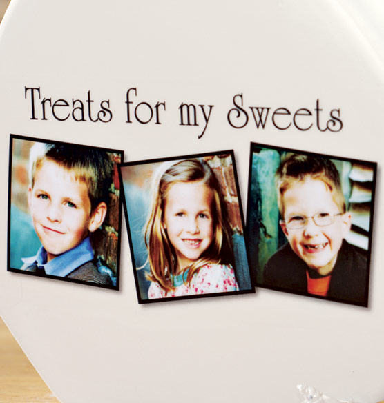 Custom Photo Treat Jar