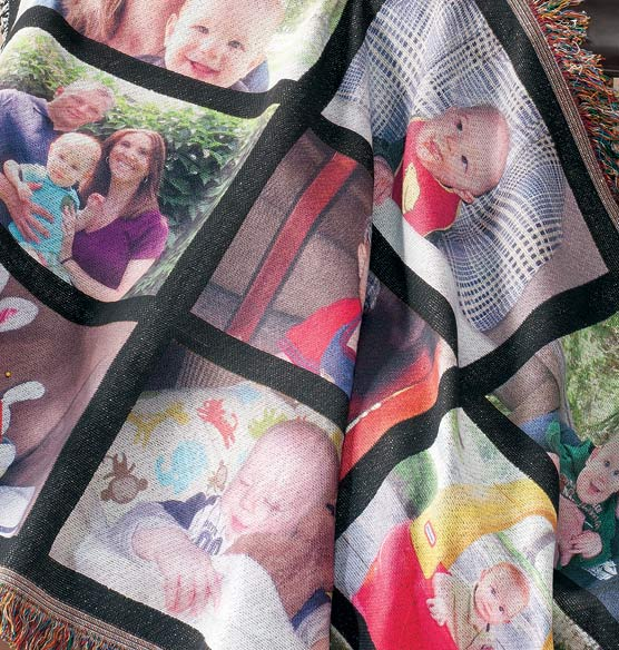 Custom Picture Blanket - View 2