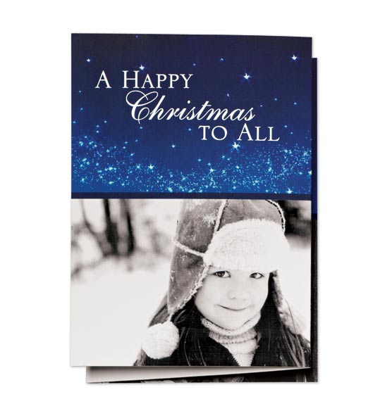 * Night Before Christmas Collage Card Set of 20