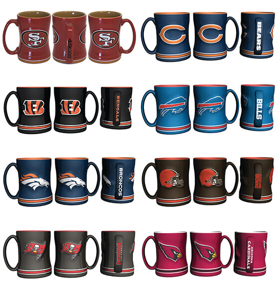 NFL Ceramic Mug - View 2