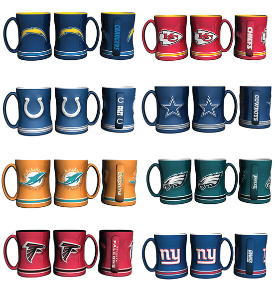 NFL Ceramic Mug - View 3