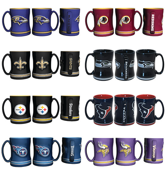 NFL Ceramic Mug - View 5