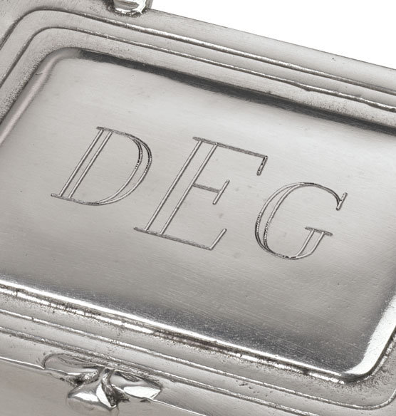 Personalized Pewter Box Small - View 2