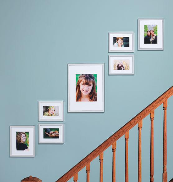 Staircase Picture Frame Set Of 7 View 4