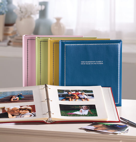 Felicity 3-ring Photo Album Gift Set - View 3