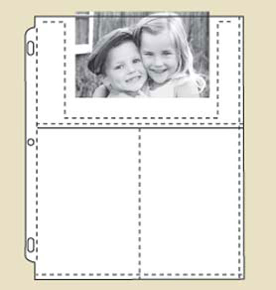 Felicity Personalized 3-Ring Photo Album Set with Pages - View 5