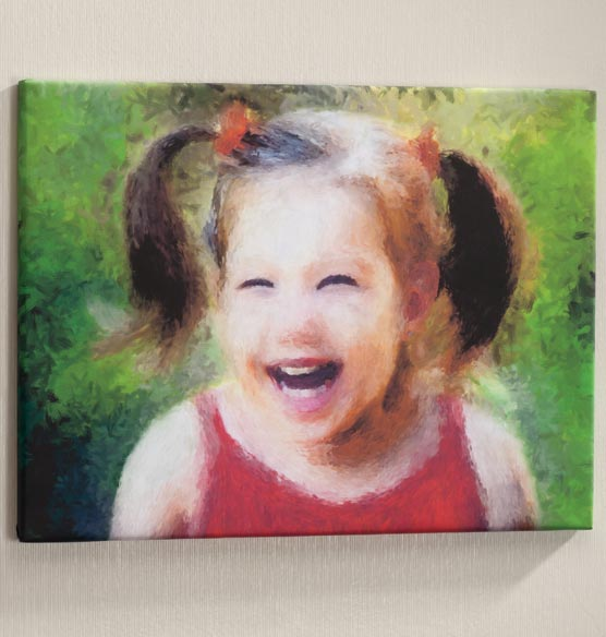 Impressionist Photo Canvas - 11 X 17 - View 2