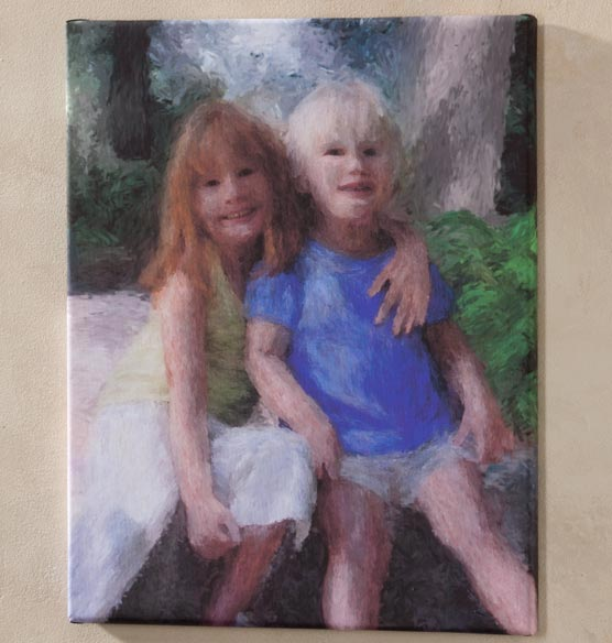 Impressionist Photo Canvas - 16 X 20 - View 4