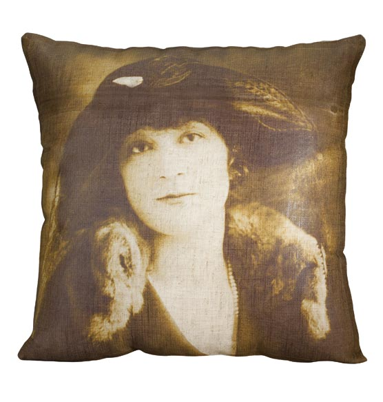 Vintage Photo  Pillow - View 3