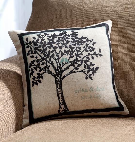 Happily Ever After Pillow Personalized - View 2