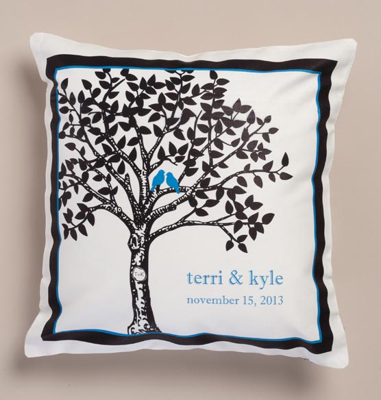Happily Ever After Pillow Personalized - View 4