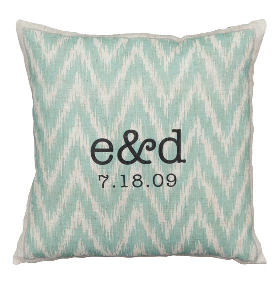 Ikat Personalized Pillow - View 2