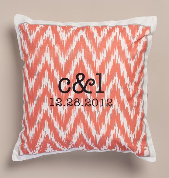 Ikat Personalized Pillow - View 4