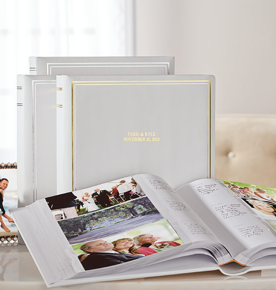 Ultimate Wedding Leather Memo Album Personalized - View 2