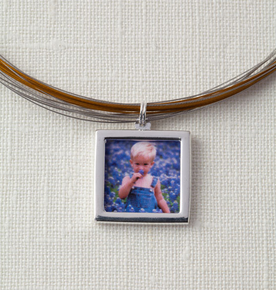 Multi-Strand Photo Necklace - View 2