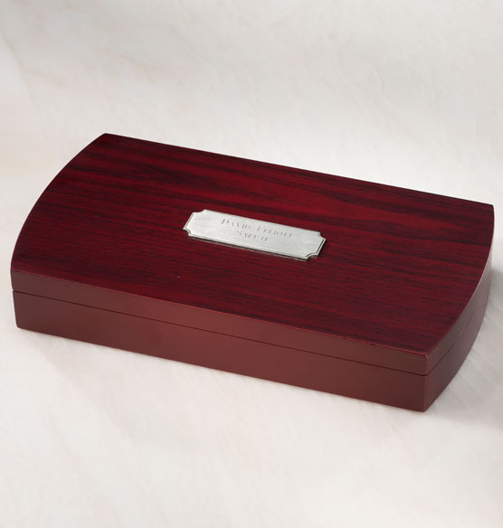 Wine Set in Personalized Wood Box - View 2