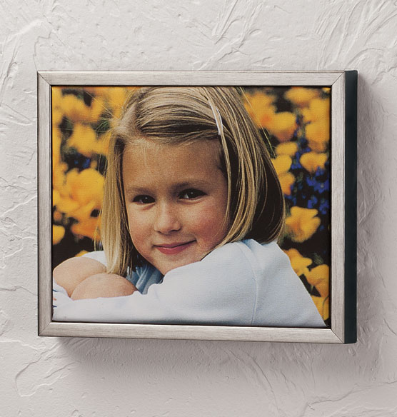 Framed 8x10 Custom Photo Canvas - View 3