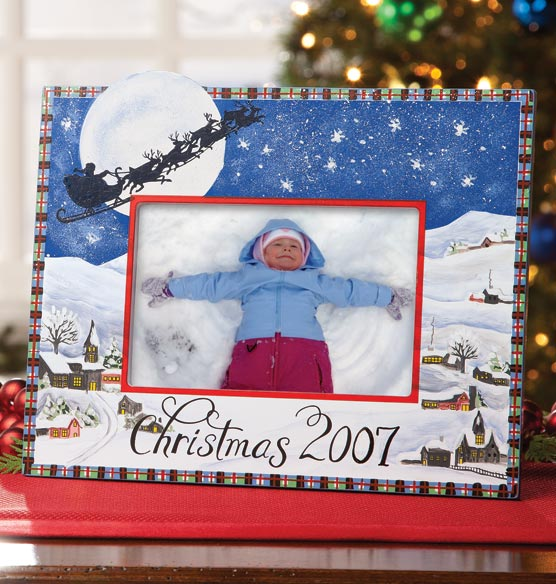 Open Date Christmas Frame - View 2
