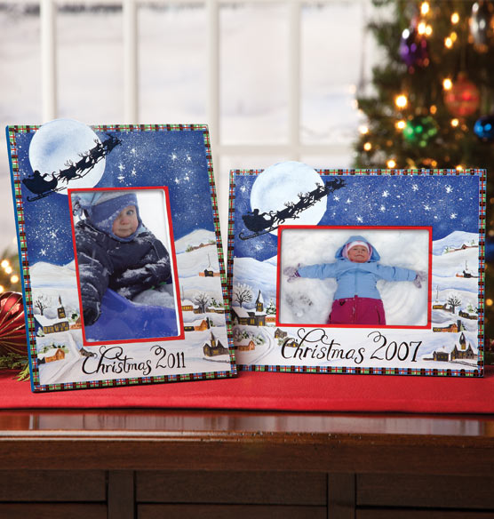 Open Date Christmas Frame - View 3