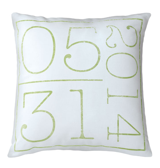 Birth Date Pillow - View 4