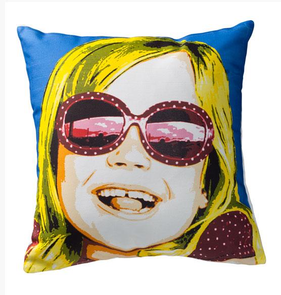 Vivid Pop Art Pillow Personalized Pillow Couch Pillow