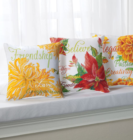 Flower of the Month Pillow - View 5
